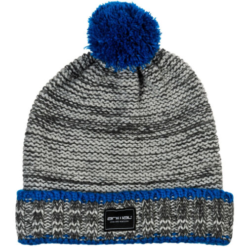 Animal Boys Quinsy Knitted Warm Woolly Chunky Knit Roll Up Beanie Hat