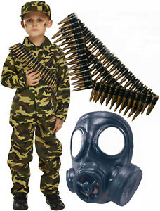 Army-Boys-Soldier-Action-Man-Fancy-Dress-Costume-Outfit-with-Gas-Mask-Bullets