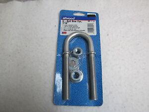 Attwood Marine Stainless Steel Bow Eye U-Bolt 3392-3