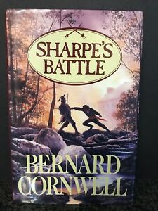 SHARPE-039-S-BATTLE-Bernard-Cornwell-Hardcover-DC-DJ-GOOD