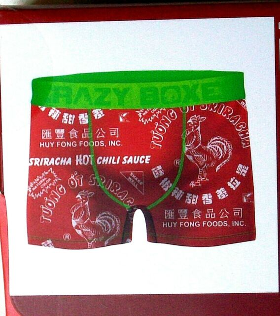 Sriracha Hot Sauce Boxer Briefs Mens Underwear