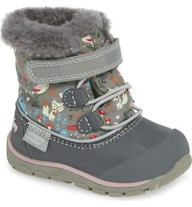 See-Kai-Run-Abby-II-Waterproof-Boot-Size-6-6T-EUR-22-Gray-Woodland