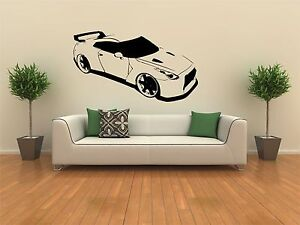 Image Is Loading Nissan GTR Car Wall Sticker Vinyl Graphic Decal