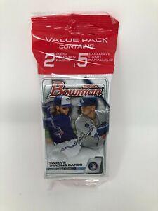 1-2020-Topps-Bowman-Baseball-Value-Cello-Hanger-Pack-29-Cards-New-Sealed