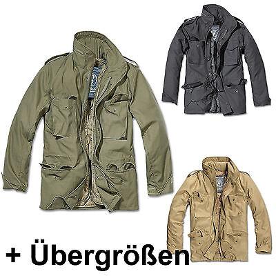 Parka US Style Jacke mit Futter M65 Standard Feldjacke Darkcamo Brandit