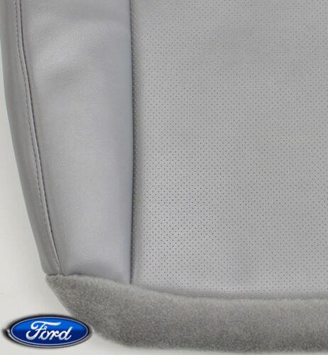 04-08 Ford E350 E450 E550 Van Cutaway Dually Chassis XL Driver Bottom Seat GRAY
