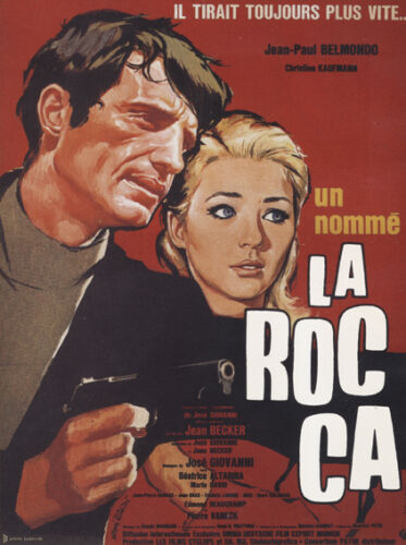 Un nomme La Rocca Jean-Paul Belmondo movie poster