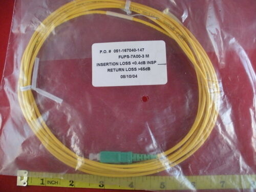 Corning FUPS-7A00-3M Optical Fiber Cable 02//04 1 SM TB2 OFNR ETL OFN FT4 CSA New
