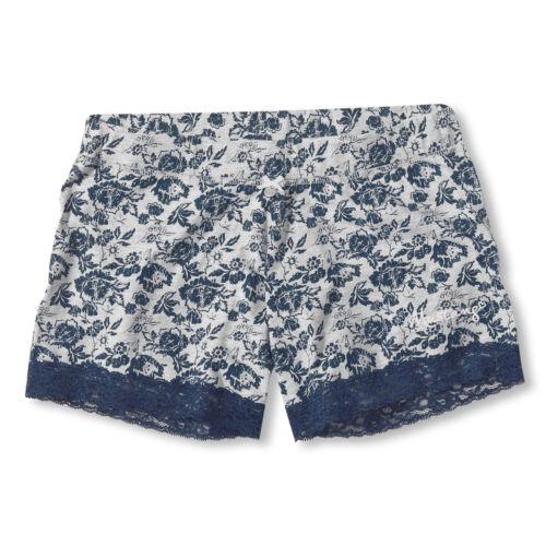 MUSTANG Damen Pyjamahose kurz Schlafanzughose Shorts Shorty Elena S M L XL