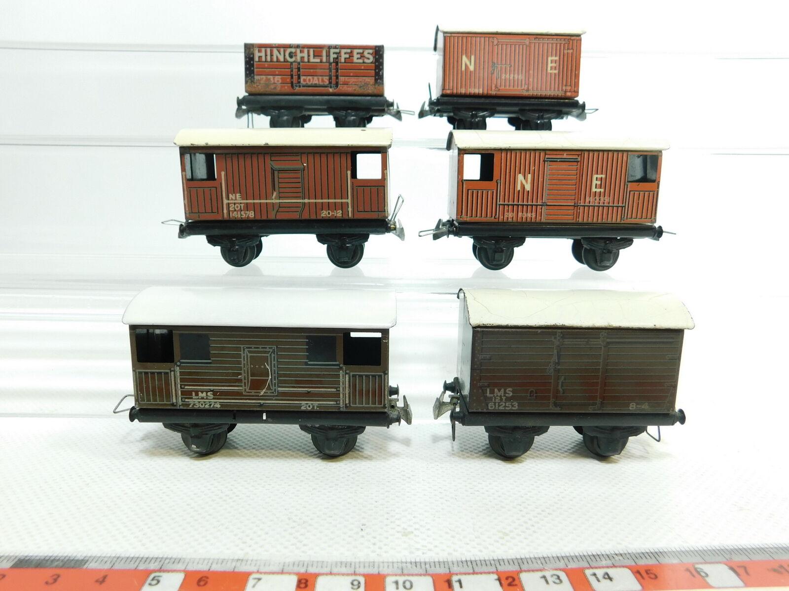 Bi633-1  6x TTR Trix TWIN Railways h0 carri merci  140351+141578+24296+61253 etc