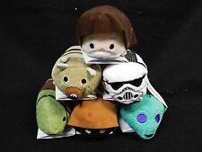 "Disney Parks Store Star Wars ""Tatooine"" 6pc Tsum Tsum Set"