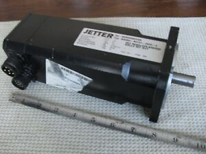 Jetter-AC-Servo-Motor-W-Brake-and-Resolver-M406D-B0101-0000-4-7000-RPM-Germany
