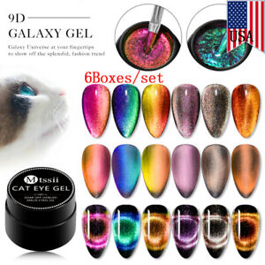 MTSSII-6Boxes-set-5ml-9D-Magnetic-Cat-Eye-Nail-UV-Gel-Polish-Soak-Off-Varnish