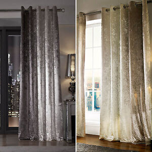 Image Is Loading Kylie Minogue Curtains NATALA Ring Top Velvet Slate