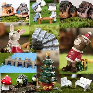 Animals Miniature Landscape Ornaments Garden Bonsai Dollhouse Decorations  LD ·