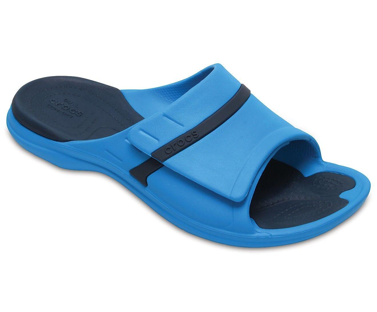 Crocs Unisex Modi Sport Slide Sandal, Ocean Navy