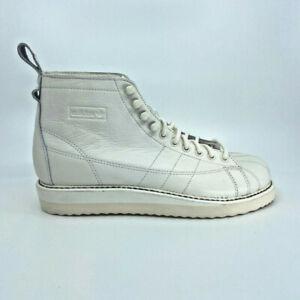 Adidas Originals Superstar bateau Sneaker Cuir Blanc Chaussures Femmes Basket Neuf