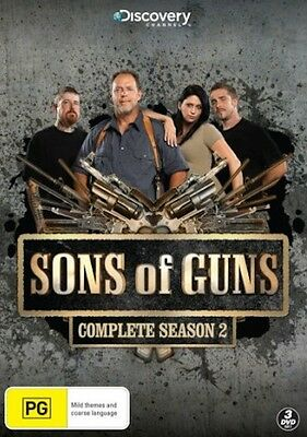SONS OF GUNS SEASON 2 : NEW DVD