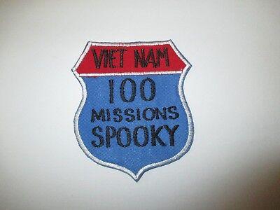 b4891 US Air Force Gun Ship Spooky AC47 100 Missions Vietnam patch IR23A