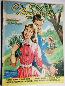 #136 Revue Hebdomadaire Nous  Deux Le muguet du bois joli N 465 de 1956