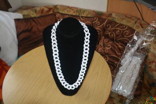 Collares Grueso Blanco