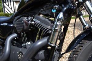 Supporto vignetta impermeabile moto metallo cromo.