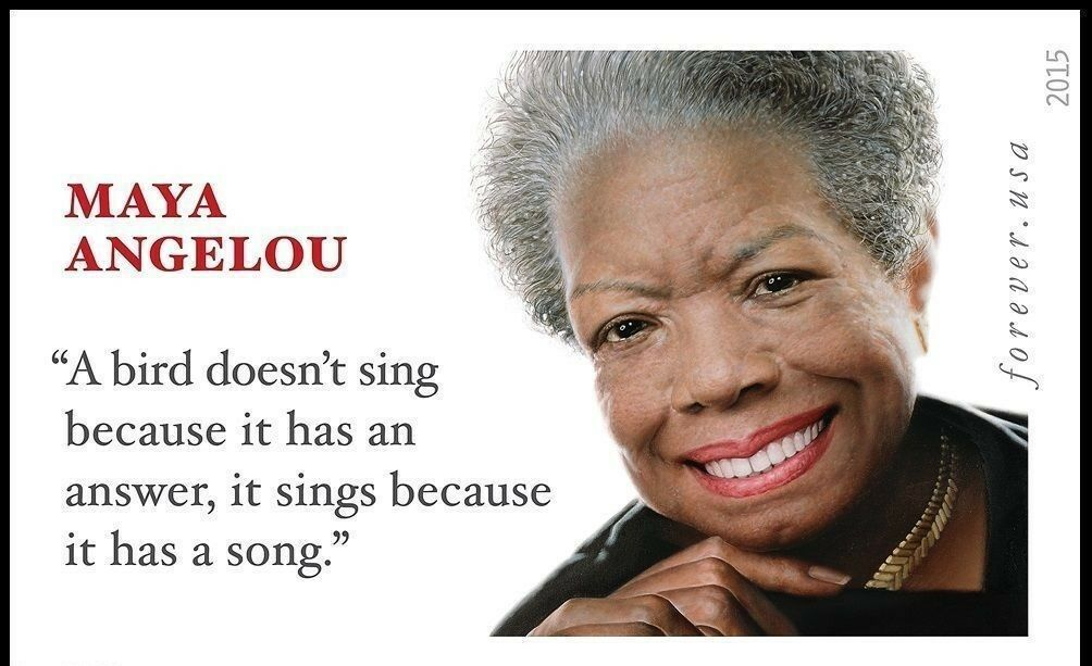 2015 49c Dr. Maya Angelou Champion of Civil Rights Impe