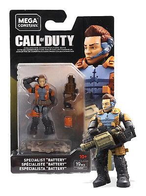 "Specialist /""Battery/"" #FVF97 19 Pcs New In Box Mega Construx Call Of Duty"