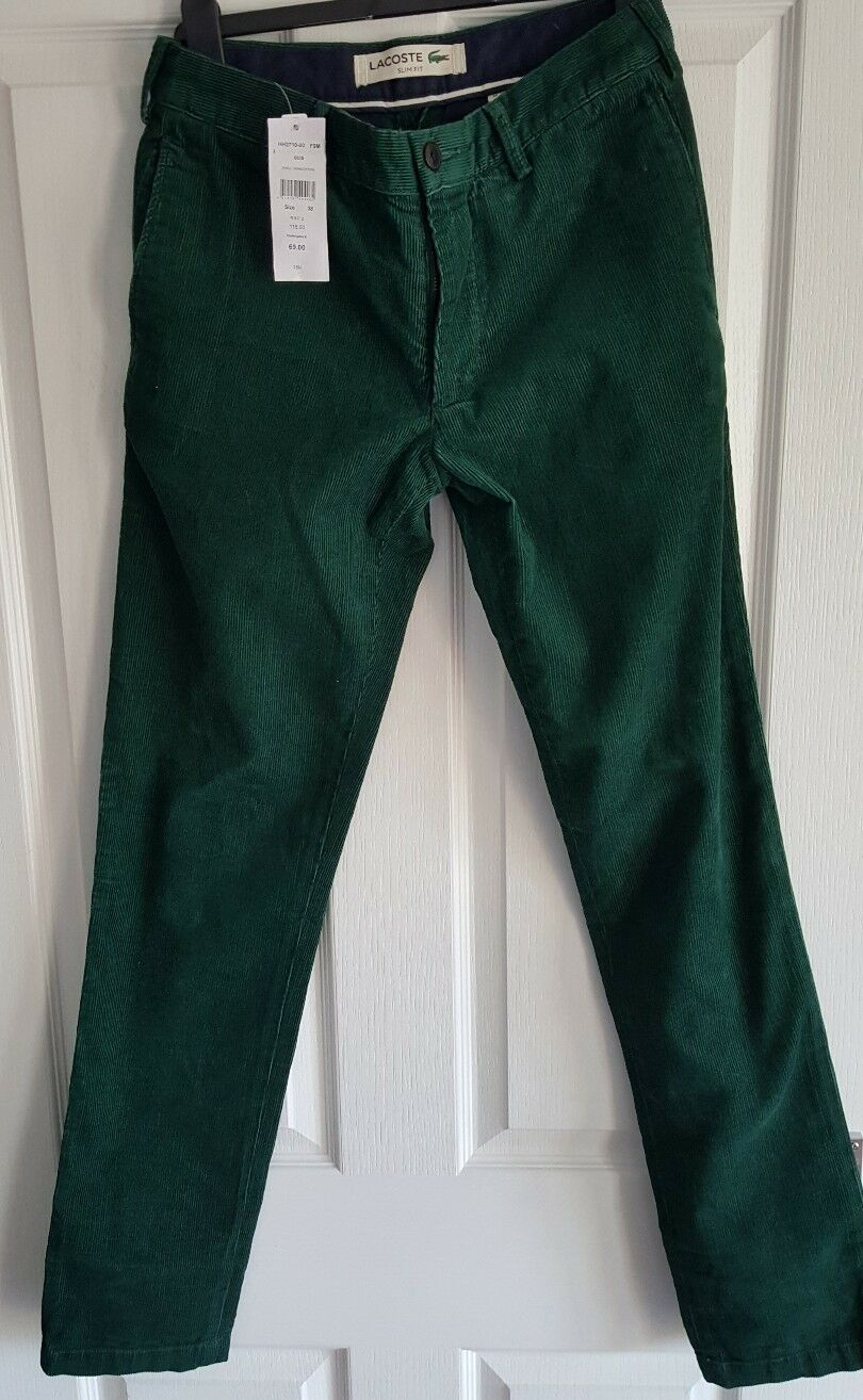 Lacoste cord jeans w30 l 33 slim please read