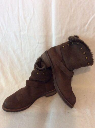 taglia caviglia Jipi Stivali Japa marrone pelle con 36 in qwz0ZUga