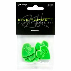 Dunlop-Kirk-Hammett-Custom-Jazz-III-Nylon-plectrums-picks-6-Pack-47P