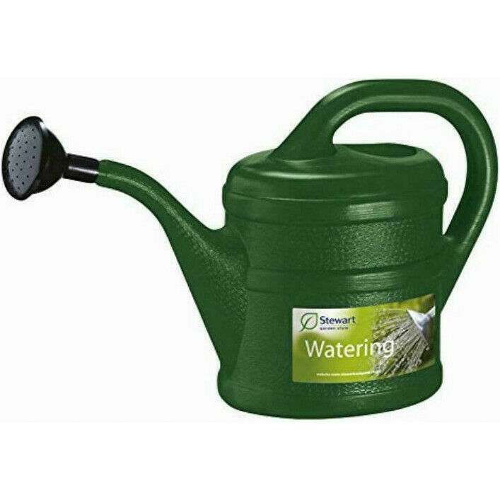 Plastic Watering Can 1 Litre Green Small Childrens Kids Wash Indoor Outdoor Rose
