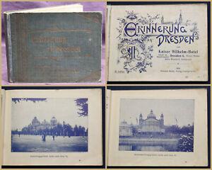 Erinnerungen-an-Dresden-1904-Sachsen-Geschichte-Ortskunde-Geografie-Kultur-sf