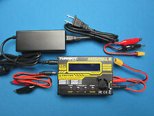 TURNIGY ACCUCEL 6 BALANCE CHARGER 50W 6A LiPo LiFe LIHV ACCUCELL AC/DC PSU INCLU