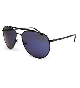 Lacoste Sunglasses L177S 001 Black Aviator Men 57x15x140