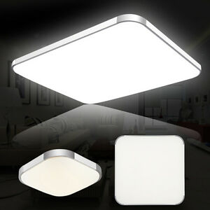 LED Ceiling Down Light Panel Recessed Kitchen Living Lamp DayWarm - Ebay led kitchen ceiling lights