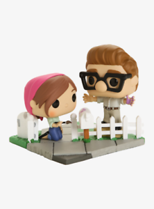 Funko-Pop-Movie-Moments-Disney-Pixar-Up-Carl-amp-Ellie-Vinyl-Figures-2020-Fall