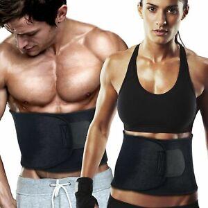 Waist Trimmer Exercise Wrap Belt Slimming Burn Fat Sweat Body Shaper Weight Loss