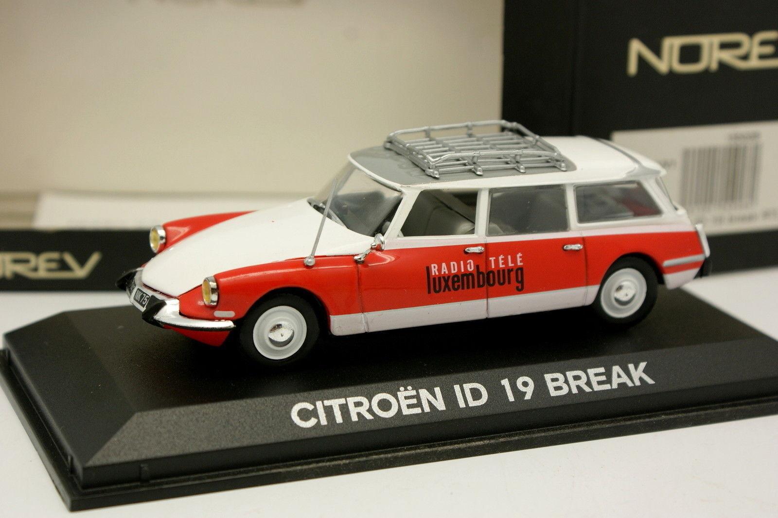 Norev 1 43 - Citroen DS ID 19 Break RTL Radio Tele Lussemburgo