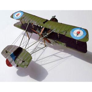 WWI-Airco-DH-2-im-Massstab-1-33-Britischer-Bausatz-fuer-einsitzige-Doppeldec-MW
