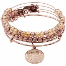 Alex and Ani BE MINE Sweet Set de 3 Brillant Rose Gold charm bracelet A17EB30SR