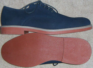 Msrp70 CroftBarrow New Oxford 5 Faux 99 schoenen Navy Suede maten Vass Mens MVqpSzU
