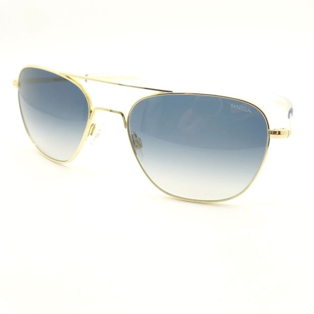 e2f4a988cbc Randolph Aviator Gold Blue Fade 58mm USA Sunglasses Af168 for sale ...