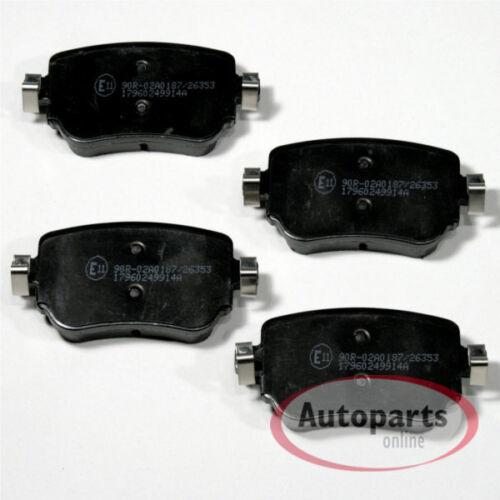 Bremsscheiben Bremsen Bremsbeläge für vorne hinten Seat Leon 5F 2.0 Cupra