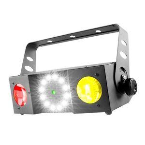 Chauvet-Swarm-4-FX-3-in-1-LED-MOONFLOWER-STROBO-LASER-DMX-LEUCHT-EFFEKT