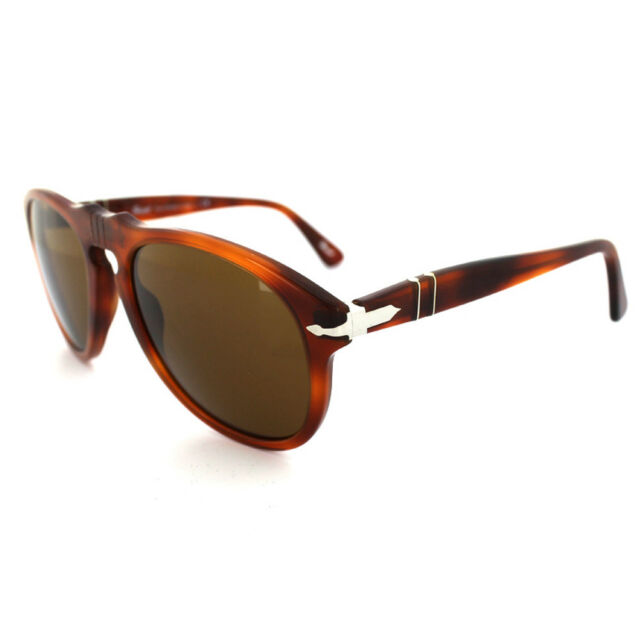 bbcd154d15 Authentic Persol PO 649 96 33 Light Havana Sunglasses Crystal Brown ...
