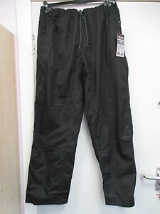 NEW-MENS-WATER-WIND-PROOF-BLACK-TROUSERS-XL-EXTRA-LARGE-PLYTEX-TECHNOLOG