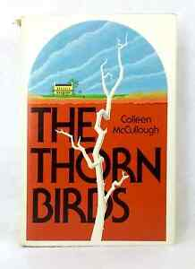 The-Thorn-Birds-by-Colleen-McCullough-vintage-hardcover-dust-jacket-1977-classic