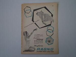 advertising-Pubblicita-1958-MAGLIERIA-RAGNO