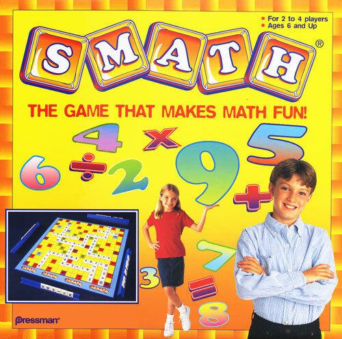 SMATH  The Game That Makes Math Fun by Pressman Toy NEW
